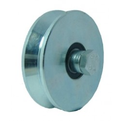 WHEELS WITH 2 BEARINGS GROOVE V 140
