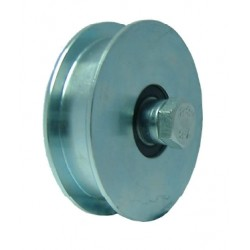 WHEELS HEAVY WITH 2 BEARINGS GROOVE U 120