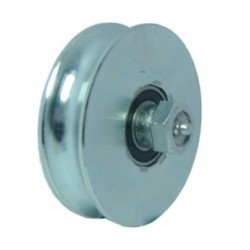 WHEELS HEAVY WITH 2 BEARINGS AND LUBRICATOR PINS GROOVE O 180MM