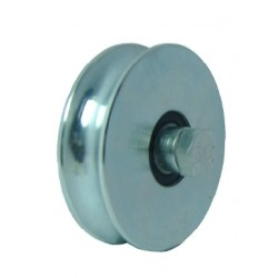 WHEELS WITH 1 BEARING GROOVE O 10mm 80