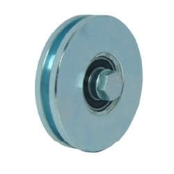 WHEELS WITH 1 BEARING GROOVE U 120
