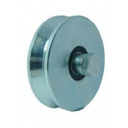 WHEELS WITH 1 BEARING GROOVE V 140